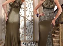 فستان جلد فستان جلد طبيعي مع فرو إيطالي