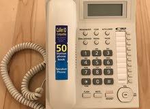 للبيع 2 هاتف باناسونك ارضي استخدام قليل بحاله كل جديد
