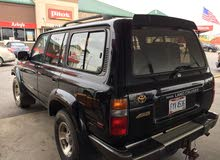 Used condition Toyota Land Cruiser 1996 with +200,000 km mileage