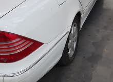 Used condition Mercedes Benz S 320 2000 with +200,000 km mileage