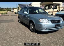 Blue Hyundai Accent 2006 for sale