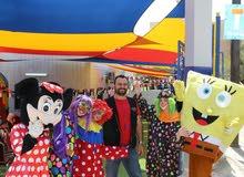 تنظيم حفلات المدارس والمهرجانات مع أروع الشخصيات الكرتونيه والمهرجين
