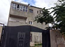 منزل من 3 طوابق علي ارض 475 متر بناء 2012 بخلة بن عون