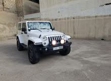 White Jeep Wrangler 2013 for sale