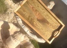 سفرة خشب السعر 65 دينار
