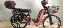 دراجه كهربائيه لم تستخدم غير واحد يوم فقط