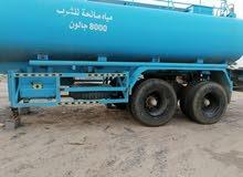 صهريج ماء صالح للشرب 8000 آلاف جالون للبيع