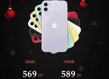 ايفون 11 جديد 128gb كفالة apple سنة + 4 هدايا فعلية من Mobile House