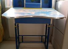 طاولة مدرسية خشب مستعملة ×2