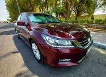 HONDA ACCORD 2013 GCC IS VERY NEAT AND CLEAN INSIDE AND OUTSIDE WITH ONE YEAR RE