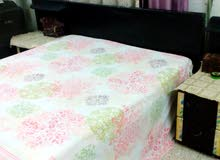 Bedroom set (Cupboard, bed, side tables, dressing table, mirror & mattress)