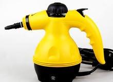 ماكينة التعقيم والتنظيف بالبخار 1000واط اصليه للتعقيم والتنظيف والكى جديده بالعلبهSteam Cleaner