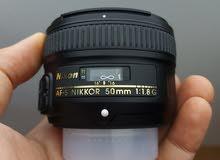 Nikon 50mm f1.8 G