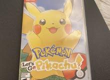 Pokémon Let's Go Pikachu Nintendo Switch