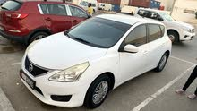 Nissan Tiida 2014 new registration