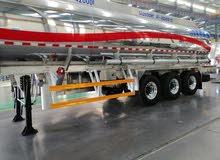خزانات الوقود المعتمدة مقطورات نقل الوقودالألمنيوم