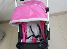 Junior stroller in excellent condition semi-new beautiful color