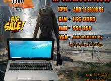 HP ELITEBOOK 755 G3 جيل ثامن رمات 16 جيجا DDR3 هارد 256 SSD العاب 2019 بكفاااءه