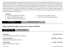 Civil site supervisor