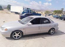 Automatic Grey Hyundai 2000 for rent