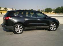 Chevrolet Traverse LS 3.6. Leather seats. Black colour