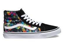 حذاء VANS أصلي (Rainbow Floral) مقاس 40 و 41