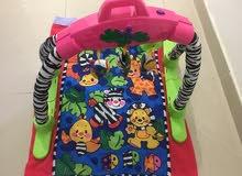 تخت بيبي 25 كرسي سياره 30  فرشه للأطفال 20