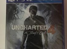 للبيع شريط uncharted 4