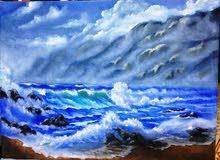 لوحة زيتية  20 × 30