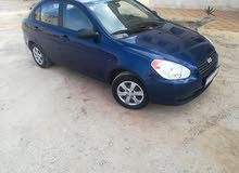 Blue Hyundai Accent 2010 for sale