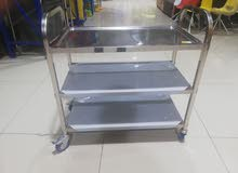 Good Quality stainless Steel Trolley For House