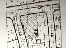 قطعة ارض في الغررات من وجهتين علي القطران تجاري   موقع ممتاز