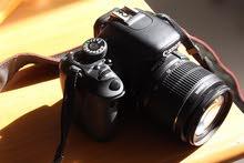 كاميرا كانون 600 دي مع عدسة الوكاله و عدسة اضافيه 18-135
