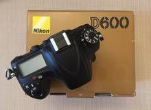 NIKON D600 24 MP FULL FRAME DSLR