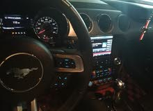 Orange Ford Mustang 2015 for sale