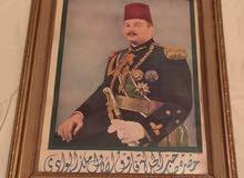 لوحه للملك فاروق