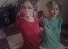 2 مانيكان عارضات ملابس للبيع 40 دينار