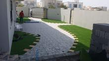 تخفيضات  من اوركس المها لتنسيق الحدائق على العشب الاصطناعى 45ملم