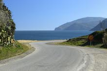 أرض للبيع على بحر المتوسط بثمن جد مناسب