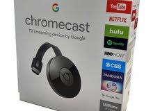 Chromecast لعرض الهاتف على الشاشة صوت وصورة