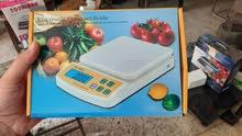 ميزان مطبخ 10 كيلو حساسية 1 جرام يصلح لجميع الأغراض السعر 190ج