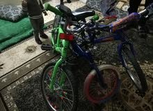 ثلاثة دراجات هوائية للبيع