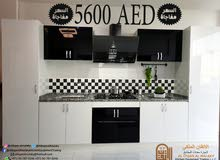 Kitchen WHITE GLOSSY ONLY 5600 AED