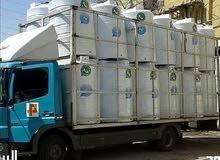 خزانات مياه بلاستيك توصيل وتركيب داخل عمان و الزرقاء