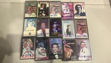 مجموعة كبيرة أصلية من ألبومات الفنان محمد عبده أصلية للبيع