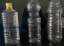 جالونات لتعبئة الزيوت والخل  وجالونات 10 لتر لتعبئة المياه (hajj plast)