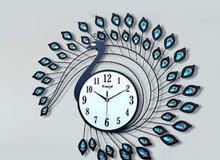 ساعات حائط هاند ميد اكثر من تصميم