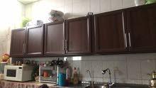 خزائن المطبخ علوي طول أربع متر كل واحدة اثنين متر كل مترين 110