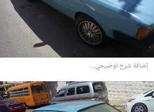 اودي مديل 80 سنة الصنع 82 السياره الصلي على النبي 5 غيار ماتور 2000  لون ازرق وك
