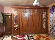 غرفة نوم مستخدمه ستة أبواب ملحق كما مبينه في الصور  العنوان البياع السعر 450 وبي